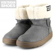 Snug Boot, grau, Vegetan Fake Suede, Gr. 37-42